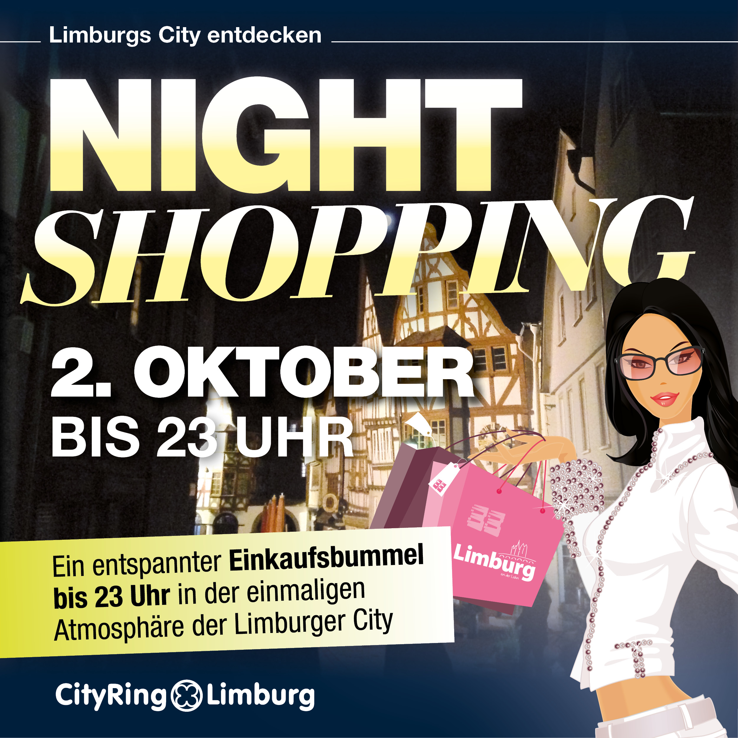latenight shopping in limburg am 2 oktober 2015 cityring limburg. Black Bedroom Furniture Sets. Home Design Ideas