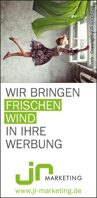 JR Marketing GmbH - wir bringen frischen Wind in Ihre Werbung