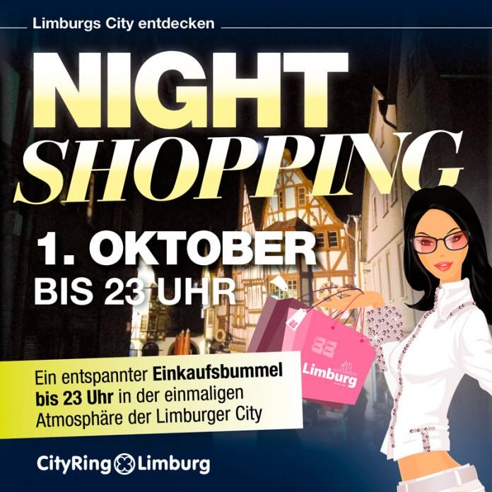 Latenight Shopping in Limburg am 1. Oktober 2016