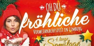 Vorweihnachtszeit in Limburg - lange Öffnungszeiten an den Adventssamstagen