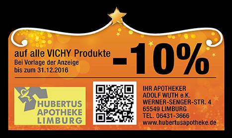 10 % Rabatt Hubertusapotheke Sternschnuppenangebot