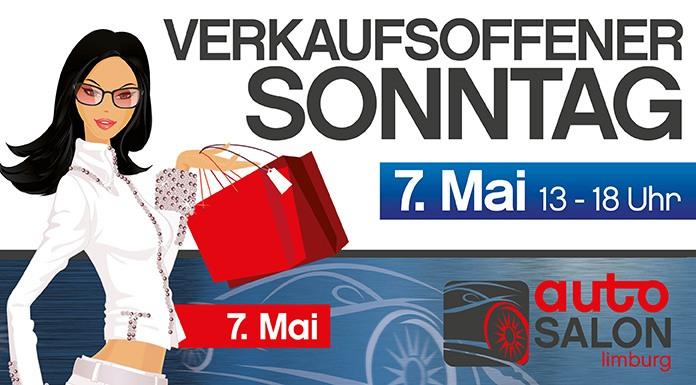 Autosalon und verkaufsoffener Sonntag in Limburg am 7. Mai 2017