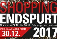 Schnäppchen jagen beim Shopping Endspurt 2017 in Limburg