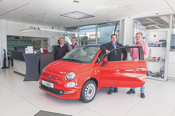Fiat Autohaus Gresser Limburg auf dem Auto Salon Limburg 2018