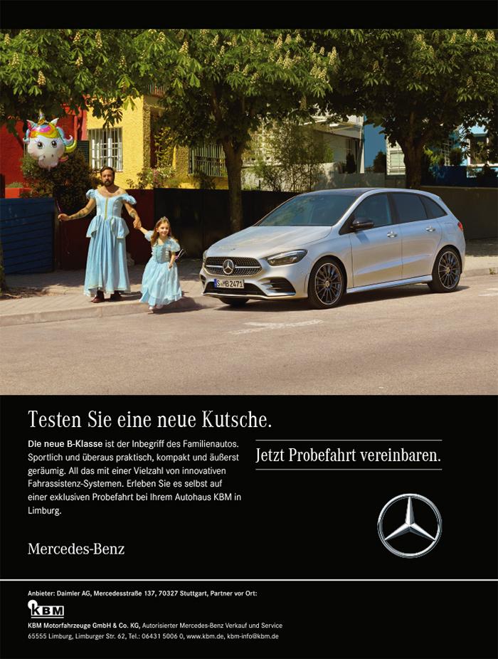 KBM-Motorfahrzeuge-Mercedes-Anzeige