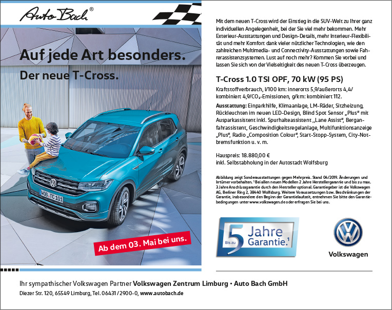 VW-Zentrum-Limburg-Anzeige